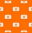 photo camera pattern seamless vector image vector image