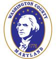 Washington county seal vector image vector image