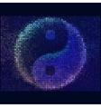 Ying yang symbol of harmony and balance Abstract vector image