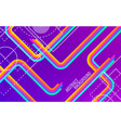 abstract diagonal background bright strips with vector image vector image