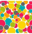 Abstract Glossy Circle Seamless Pattern Background vector image vector image