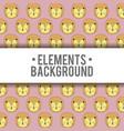 elements background design vector image vector image