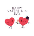 Happy valentines day with heart love kawaii