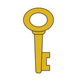 key icon image vector image