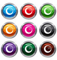 marbled bowling ball set 9 collection vector image vector image