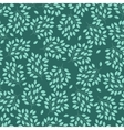Natural seamless pattern with branches of leaves vector image vector image