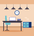 people business office vector image