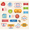 sale labels set2 vector image
