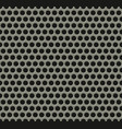 seamless tiling metal grill pattern vector image vector image