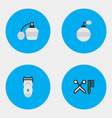 set of simple shop icons vector image vector image