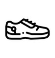 special sports shoes icon outline vector image vector image