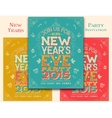New Years Eve party invitation vector image