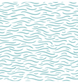 Blue wave pattern vector image