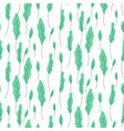foliage green plant seamless pattern vector image