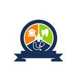 health education center vector image