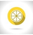 lemon icon Eps10 vector image