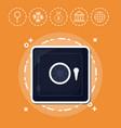 safe box fintech investment financial internet vector image