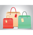 Shopping Bag Design6 vector image vector image