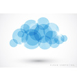 Cloud computing - vector image