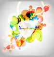 abstract background colorful template vector image vector image