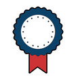award ribbon blank vector image