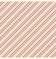beige red striped fabric texture seamless pattern vector image vector image