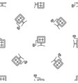 eco energy device pattern seamless vector image vector image