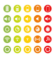 Indicators Icons vector image vector image
