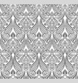 middle eastern arabic pattern vector image vector image