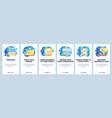 school class schedule app timetable student vector image