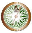 ships compass vector image