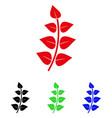 leaf branch icon vector image