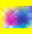abstract geometric square shape overlapping vector image vector image