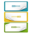 blank tags template vector image vector image