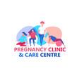 prenatal clinic image vector image