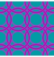 Ring geometric seamless pattern vector image vector image