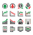 stock icon vector image vector image