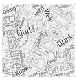 Taking Control of Your Blood Pressure Word Cloud vector image vector image