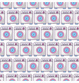 wash machine pattern background vector image