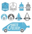 water delivery vector image vector image