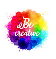 watercolor background collection paint vector image vector image