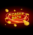 Cash back offer banner design promotion refund