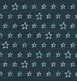 chalkboard seamless pattern with hand drawn stars vector image