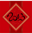 Chinese New Year Greeting Card Year vector image vector image