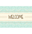 cute pastel mint and yellow with laces vector image vector image