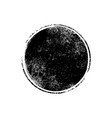 grunge texture brush stamp circle dot vector image vector image