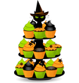Halloween cupcakes vector | Price: 3 Credits (USD $3)