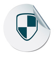 protect shield icon vector image vector image