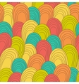 Seamless color hand-drawn pattern Abstract vector image vector image