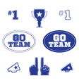 Sports icons logos and symbol set vector image vector image